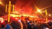 Breña: incendio consume mercado cerca al Hospital del Niño