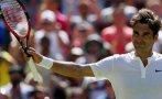 Roger Federer cedió un set pero avanzó a octavos de Wimbledon