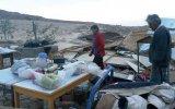 Moquegua: viviendas y cultivos afectados por ventarrones