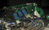 Áncash: dos personas fallecieron en triple choque