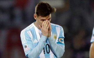 Agreden a familia de Messi durante la final de la Copa América