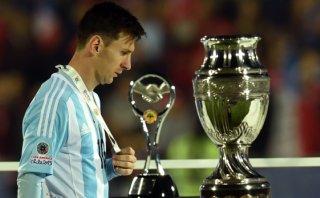 Messi y la cara de la derrota: tres finales seguidas sin ganar