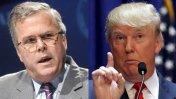 Jeb Bush repudió los dichos de Donald Trump sobre mexicanos
