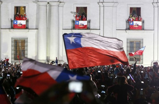 Chile campeón: así se celebró Copa América en Santiago [FOTOS]
