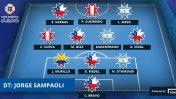Paolo Guerrero y Christian Cueva en el equipo ideal de la Copa