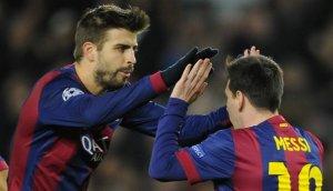 """Gerard Piqué a Lionel Messi: """"Sabes que eres 'D10s'"""