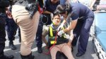 Chimbote: policía fénix que dirigía el tránsito fue atropellada - Noticias de accidente de transito