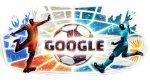 Google presentó el doodle del partido final Chile vs Argentina - Noticias de comercio