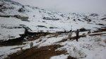 Recomiendan evitar tránsito en rutas altoandinas por nevadas - Noticias de arequipa