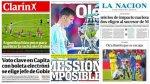 "Prensa argentina enfocó derrota en Messi: ""Mession imposible"" - Noticias de barcelona de ecuador"