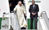 El Papa Francisco llegó a Ecuador e inicia visita a Sudamérica