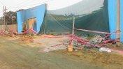 Incendio en Comas: almacén de pinturas fue clausurado