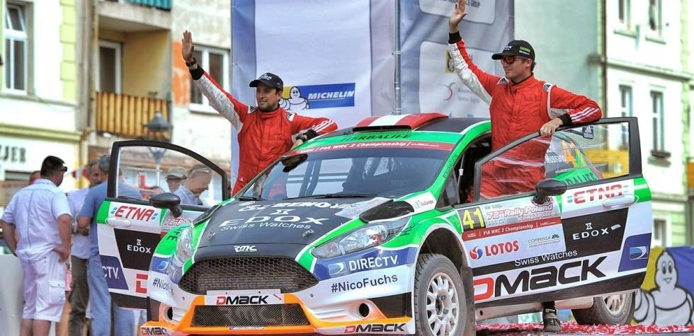 Rally Polonia: Nicolás Fuchs terminó séptimo en el WRC 2