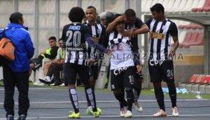 Alianza: Preciado marcó el 2-0 a Cristal y festejó bailando