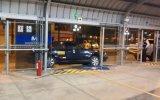 Metropolitano: Taxi terminó empotrado en la estación Matellini