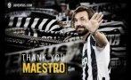 Juventus anunció oficialmente la salida de Andrea Pirlo (VIDEO)