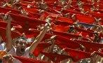 Vino, toros y fiesta: Arrancan festejos de San Fermín en España