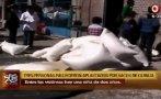 Ayacucho: familia murió sepultada por sacos de quinua