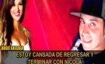 Nicola Porcella y Angie Arizaga: criticaron a difusor de audios