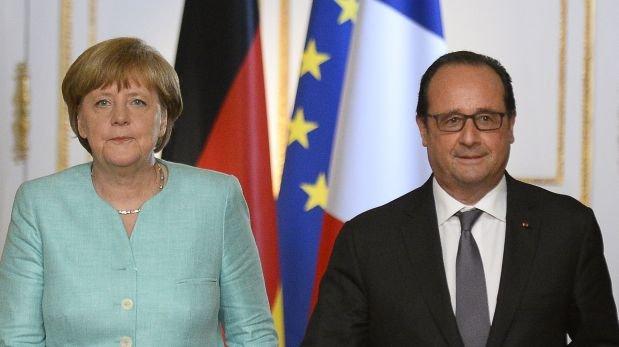 """Merkel y Hollande ofrecen negociar propuesta """"seria"""" de Grecia"""