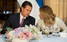 Enrique Peña Nieto y el gesto de su esposa que lo avergonzó