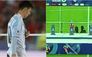 Copa América: así retiraron el premio al mejor jugador (VIDEO)