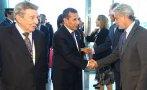 Presidente Ollanta Humala llegó a España por visita de Estado
