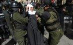 """Bolivia: """"Monjas embarazadas"""" protestan por la visita del Papa"""