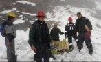Puno: rescatan cuerpo de la sexta víctima que dejó avalancha
