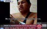 Ramiro Prialé: vendedor herido en tiroteo testificó ante fiscal
