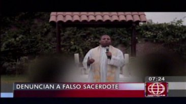 Falso sacerdote oficiaba matrimonios y hoy lo buscan por estafa