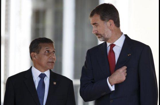 Ollanta Humala empezó su visita de Estado a España [Galería]