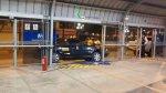 Metropolitano: Taxi terminó empotrado en la estación Matellini - Noticias de choque de buses