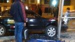 Metropolitano: así terminó el taxi que se estrelló en Matellini - Noticias de accidente de transito