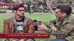 """Melania Urbina: """"Andrés Wiese no me fue infiel"""" (VIDEO) - Noticias de melania urbina al fondo hay sitio"""
