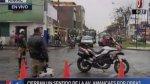 Rímac: inician desvíos y cambio de paradero de Corredor Azul - Noticias de julio encalada