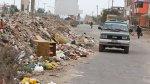 Desmonte y basura ganan terreno en la Panamericana Sur [FOTOS] - Noticias de puente alipio ponce