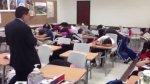 "Alumnos realizan ""broma pesada"" a sus profesores [VIDEO] - Noticias de convocatoria asimilacion pnp mazamari mayo 2013"