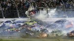 Nascar: Brutal choque en el Daytona International Speedway - Noticias de accidente