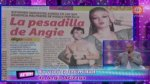 Angie Arizaga pidió a Magaly Medina no difunda sus audios - Noticias de integrantes de esto es guerra