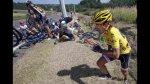 Tour de Francia: líder provocó múltiple caída de ciclistas - Noticias de joaquim rodriguez