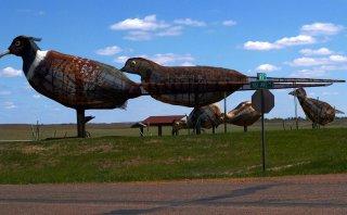 Carretera única: Enchanted Highway y sus singulares esculturas