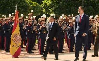 Ollanta Humala inicia visita de Estado a España [VIDEO]