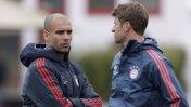 Bayern Múnich: disputa a gritos entre Müller y Pep Guardiola