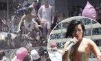 Demi Lovato sufrió fuerte caída durante show en vivo (VIDEO)