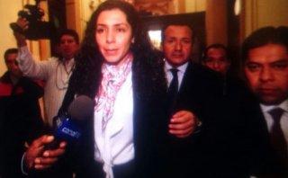"""Rocío Calderón: """"Soy amiga de Nadine Heredia, no política"""""""