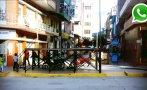 WhatsApp: municipio de Jaén se adueña de vereda más de un año