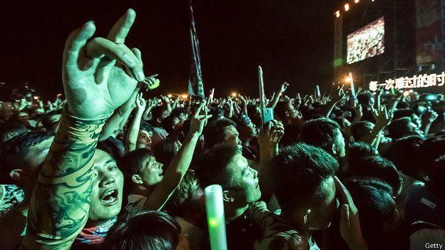 El principal desafío de los músicos de rock chinos está en cómo hacer dinero: quienes no logran entrar en el mundo de los festivales, lo tienen difícil. (Foto: Getty Images)