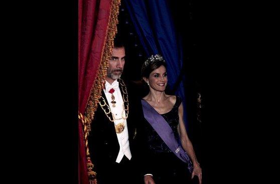 España agasaja a Humala y Nadine con esplendor del Palacio Real