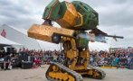 YouTube: EE.UU. y Japón se retan a un duelo de robots gigantes